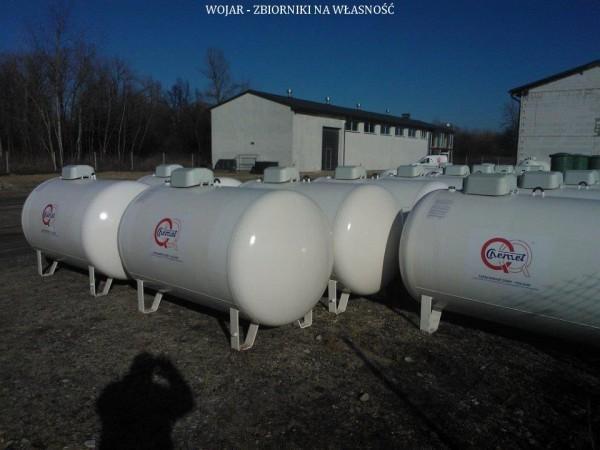 Wojar zbiorniki na propan białe 6