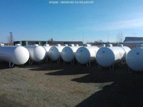 Wojar zbiorniki na propan białe 7